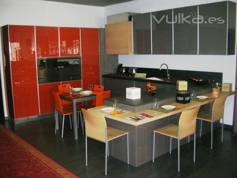 Muebles De Cocina Asturias. Fabulous Cocina En Ar Blanco Brillo With ...