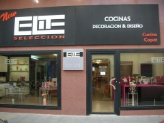 Escaparate de cocinas elite , almeria .