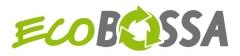 Logotipo de la empresa de importaci�n de bolsas ecol�gicas ecobossa