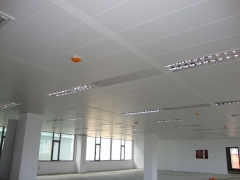 techo metálico nueva sede Urbanismo de Málaga