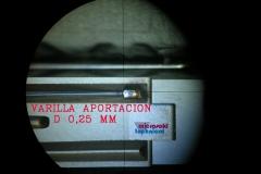 Recargue laser - detalle aportacion en molde