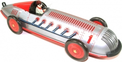 Www.juguetedehojalata.com bolido de hojalata con mecanismo de cuerda. www.juguetedehojalata.com