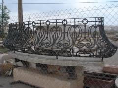 Balcon con mensulas