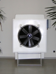 Refrigeraci�n evaporativa. ventilaci�n por sobrepresi�n. humibat