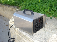 Ozono equipo portatil desinfeccion elimacion bacteria acaros
