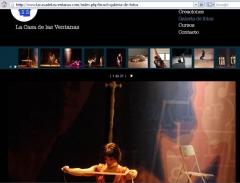 Presentación de proyectos artísticos - creacion web
