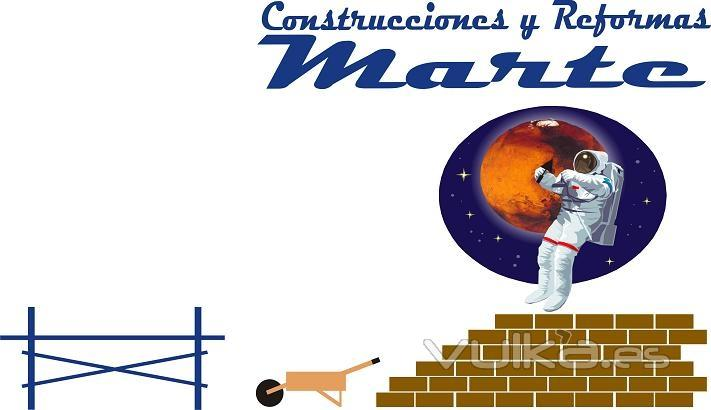 Construcciones y reformas marte for Logo de empresa gratis
