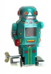 Www.juguetedehojalata.com robot de hojalata con mecanismo de cuerda www.juguetedehojalata.com
