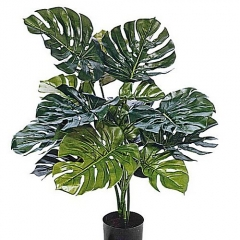 Plantas artificiales monstera