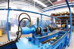 Maquinaria limpieza cilindros hidráulicos