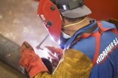 Experto equipo de soldadores en m�ltiples materiales. hidramar s.l.