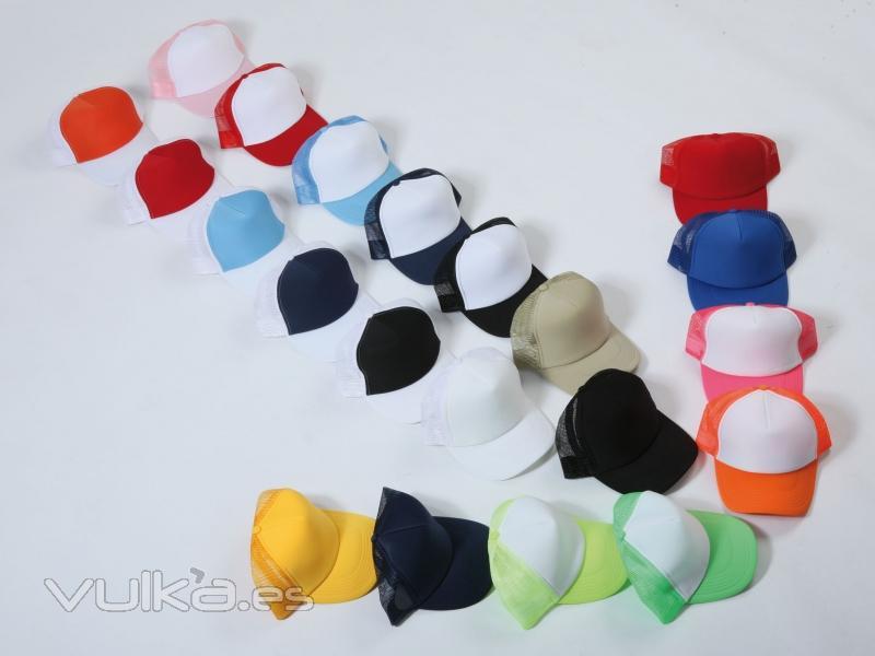 Foto gorras trucker amplia gama de colores ideales para - Gama de colores para pintar ...