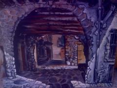 Casco antigüo de el pont de suert
