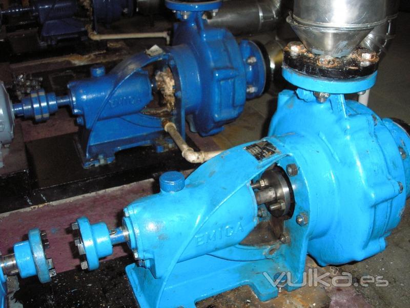 Foto: Reparación bombas centrifugas