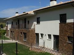 Barcenilla de piélagos. fachada sur edificio norte. construction management. 2010