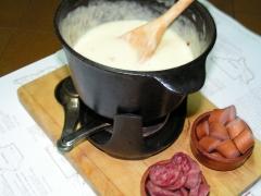 Nuestra fondue de queso