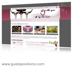 Diseño y desarrollo de página web para la promoción de cursos de cata de vino, monográficos, actividades de ...