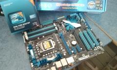 Asus p7p55d con i5-650 lga1156