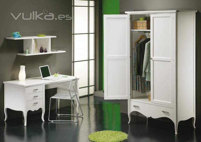 Foto juvenil carla mesa de estudio con armario - Mesa de estudio juvenil ...