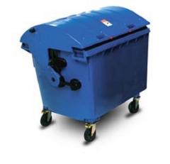 Cubos de basura de pl�stico