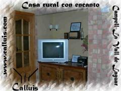 Televisión, TDT, DVD, Radio, fotos en casa rural