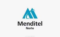 Diseño de identidad visual corporativa para menditel norte