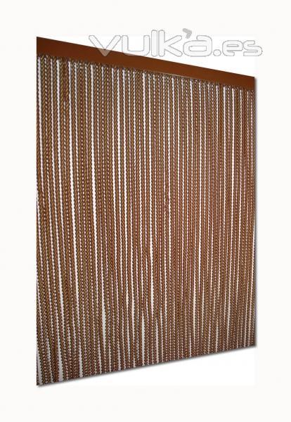 Foto cortina de tiras de pl stico modelo b - Cortinas logrono ...