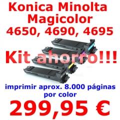 Compatible para las siguientes m�quinas:      * Konica Minolta Magicolor 4650 DN     * Konica Minolta Magicolor ...