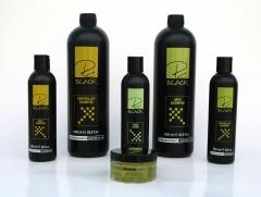 Pc black es la nueva l�nea unisex de tratamiento, cuidado y acabado. sus ingredientes activos de alta calidad ...