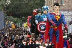 Pasacalle super heroes