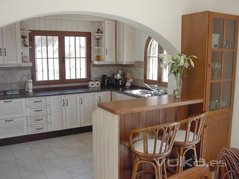 Foto cocina rustica 3 - Cocina comedor rustica ...