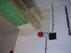 Sellado de paso de instalaciones