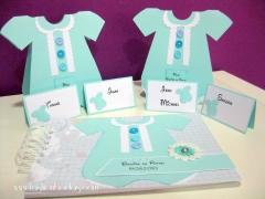 Fashion bodas - conjunto de bautizo (hand made)