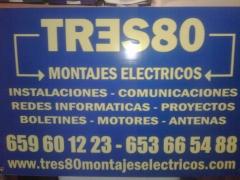 Tres80 montajes electricos