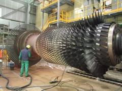 Rotor turvina ciclo combinado