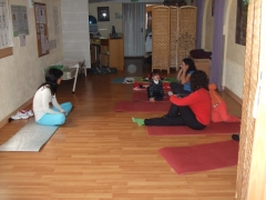 Yoga madres y ni�os