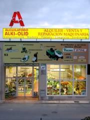 Fachada tienda  alquilatodo alki-olid