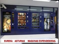 EUREKA. Asturias - Maquinas expendedoras