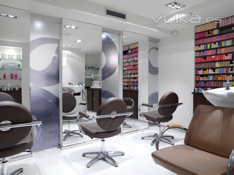 Bambalina decoraci n - Decoracion de peluqueria ...