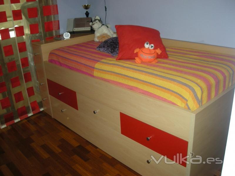 Foto cama nido dormitorio infantil - Dormitorio infantil cama nido ...