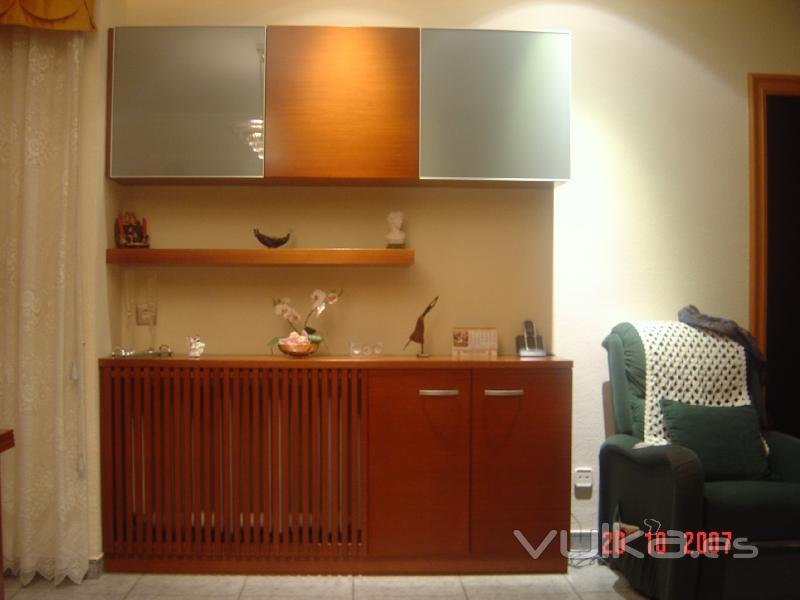 Foto mueble comedor con tapa radiador - Muebles tapa tapa ...