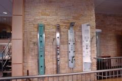 Columnas hidromasaje