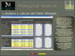 An�lisis y c�lculo del valor a�adido.