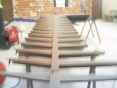 Escalera de dise�o forja vi�as nuevas aldea nueva