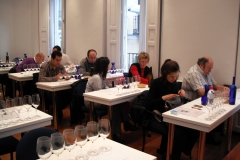 Cata de vinos de bulgaria s.l. en la unión española de catadores, madrid, 12 de mayo