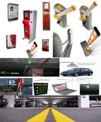 Gesti�n de parking completa y sus accesorios. barreras, cajeros autom�ticos, caja manual, se�ales de tr�fico, ...