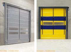Puertas r�pidas para negocios de distribuci�n de alimentos, almacenes, talleres, cadenas de fr�o, etc.