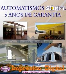 TOLDOS Y AUTOMATISMOS, IMPRESION DIGITAL