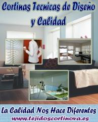 CORTINAS TECNICAS DE DISE�O Y CALIDAD