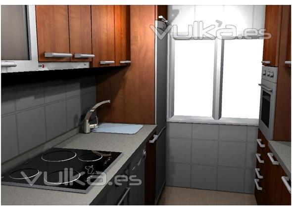Foto maria del carmen mendoza cocina postformada en color - Cocina con carmen ...
